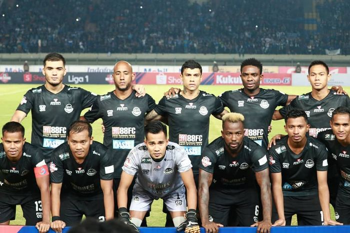 Skuat Tira-Persikabo di Liga 1 2019.