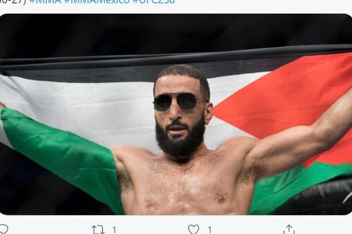 Petarung UFC berdarah Palestina, Belal Muhammad.