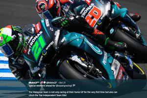 Raih Podium di MotoGP Ceska, Morbidelli: Terima Kasih Paman Rossi!
