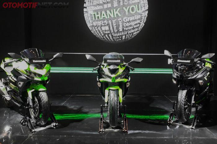 PT Kawasaki Motor Indonesia (KMI) meluncurkan New Ninja 250 untuk Model Year (MY) 2018.