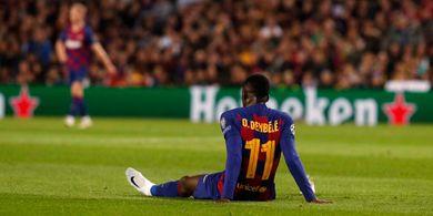 Ousmane Dembele Tanggapi Minat Manchester United dan Liverpool