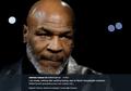 Dikenal Kuat, Mike Tyson Ternyata Mudah Stres karena Tekanan Batin