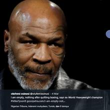 Begini Jadinya Jika Mike Tyson Jadi Wasit MMA, Masih Terlihat Mengintimidasi!
