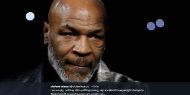 Kisah Mike Tyson Dapat Masalah Sekalinya Pakai Ganja Sebelum Laga