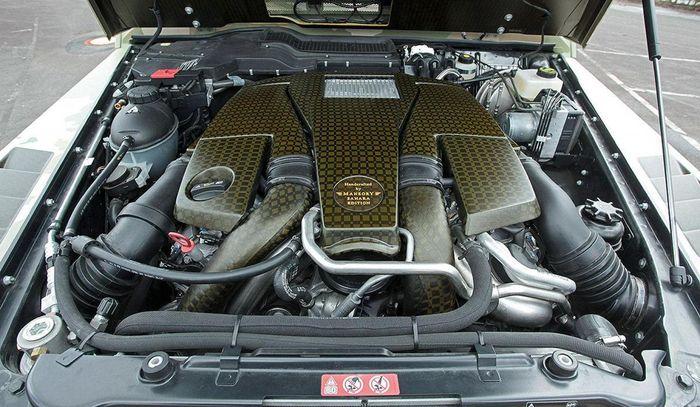 Mesin Mercedes-AMG G63 garapan Mansory