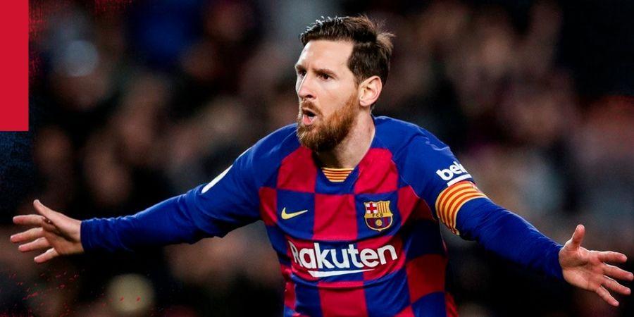 Video 20 Dribel Paling Dewa Lionel Messi! Ngacir Bak Ferrari