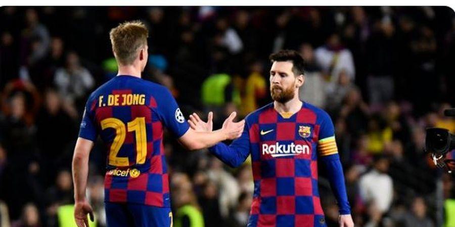 Frenkie de Jong Ikuti Messi Jadi Manusia Langka di Final Copa del Rey