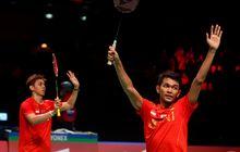 Rekap Semifinal Thomas Cup 2020 - Tumbangkan Denmark, Indonesia Jumpai China pada Final