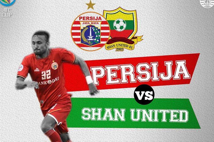 Live streaming Persija Vs Shan United pada laga terakhir Grup G Piala AFC 2019.