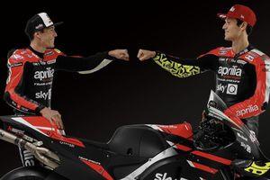 Nama Indonesia Nongol di Livery Motor Anyar Aprilia untuk MotoGP 2021