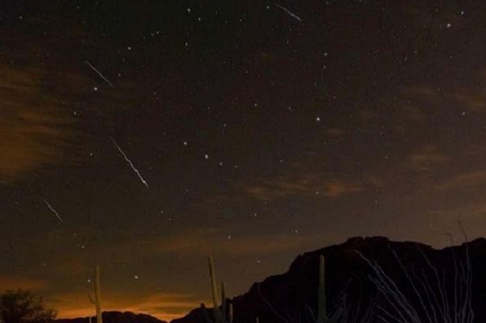 Hujan meteor Draconid di Arizona, tahun 2013