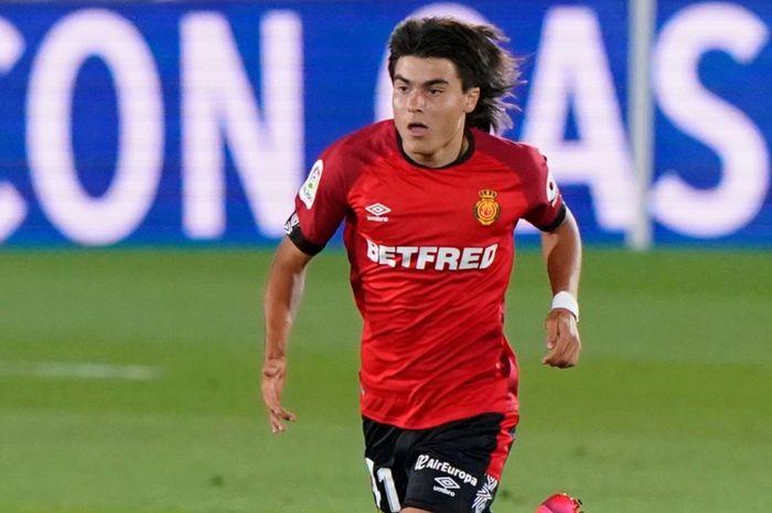 Gelandang RCD Mallorca, Luka Romero.