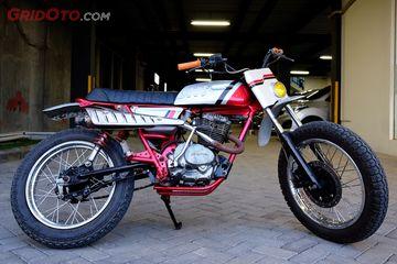 Honda Gl100 Scrambler Simpel Dan Kental Nuansa Motor Lawas