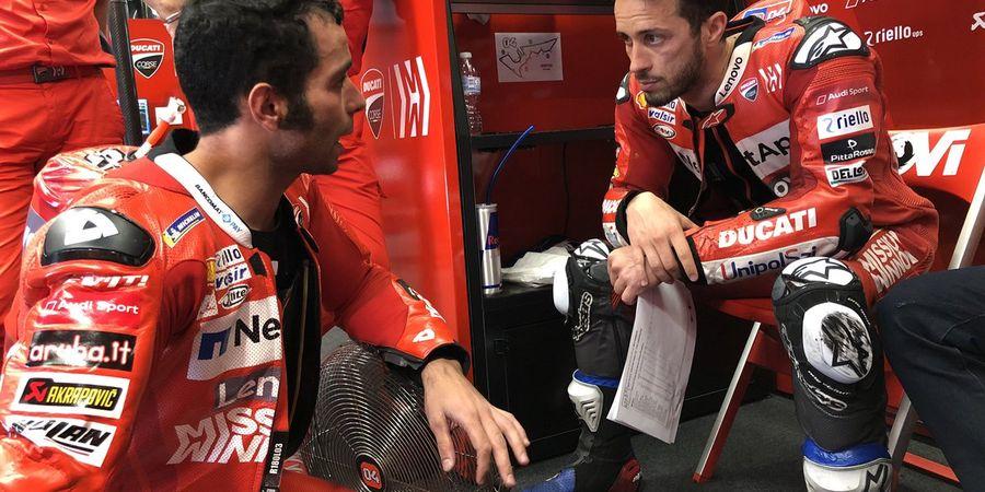 Prediksi Manajer Andrea Dovizioso untuk Line Up Tim Ducati Musim Depan