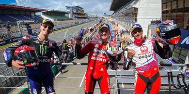 Akhirnya Podium Tanpa Orang Spanyol dan Italia pada MotoGP Prancis 2021