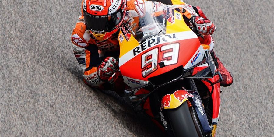 Manajer Honda Puji Kerja Keras Marc Marquez di Dalam Lintasan