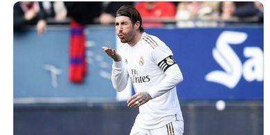 Manchester City Vs Real Madrid - Posisi Sergio Ramos Digantikan Bek 22 Tahun