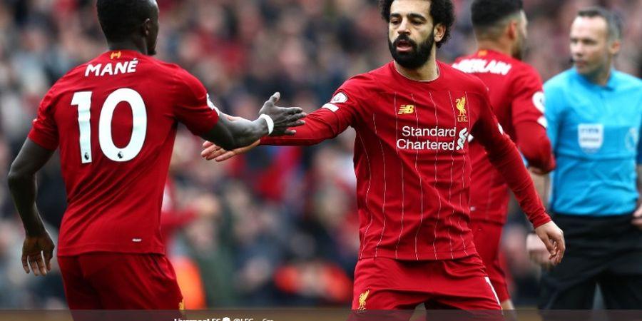 Tiga Musim Terakhir di Liverpool, Sadio Mane Lebih Baik Ketimbang Mohamed Salah