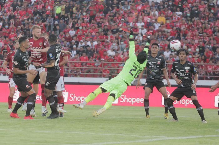 Laga Bali United vs Madura United di pekan ketiga Shopee Liga 1 2020 di Stadion Kapten I Wayan Dipta pada Minggu (15/3/2020).