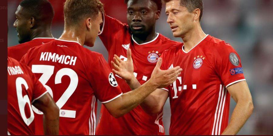 Hasil Bundesliga - Lewandowski Cetak Quattrick, Muenchen Menang Dramatis