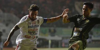 Piala AFC 2020, Winger Bali United Siap Berikan yang Terbaik Lawan Svay Rieng FC