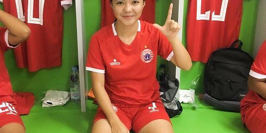 Populer, Ini Pesan Bek Persija Putri untuk Para Pencinta Sepak Bola