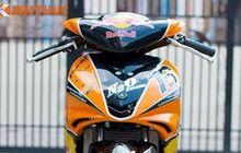 Yamaha Jupiter MX Ala Road Race, Selingkuh Pakai Livery Orange KTM