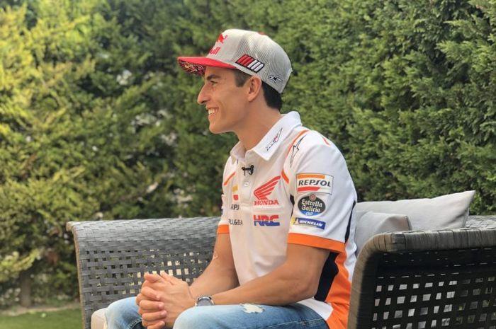 Pembalap Repsol Honda, Marc Marquez, berharap bisa sesegera mungkin kembali berlomba setelah absen panjang karena cedera patah tulang humerus kanan.