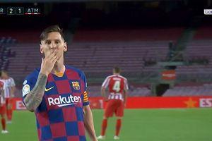 Lionel Messi Samai Rekor Xavi dan Thierry Henry Hanya dengan Satu Assistnya