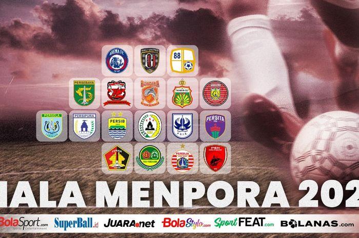 Ilustrasi Piala Menpora 2021.