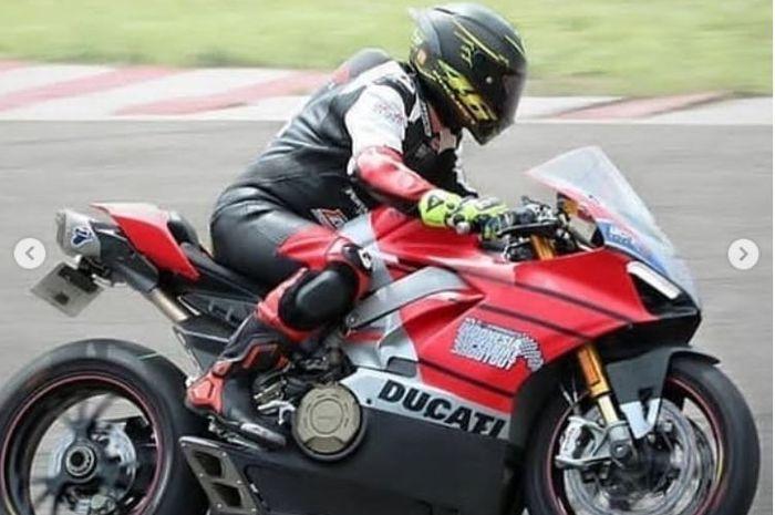 Ducati Panigale yang digunakan Iqbal Hakeem