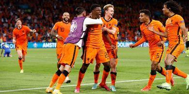 Hasil Lengkap Euro 2020 - Dua Singa Beda Warna Kompak Berjaya