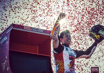 Meski Sering Berseteru, Valentino Rossi Sebut Marc Marquez Pantas Jadi Juara MotoGP