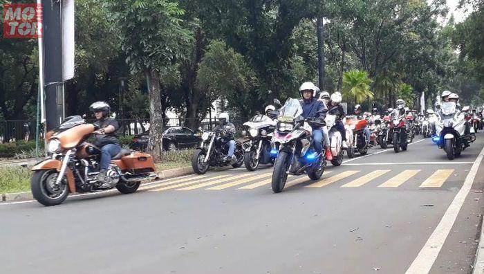 Polda Metro Jaya gelar touring lintas milenial 2019