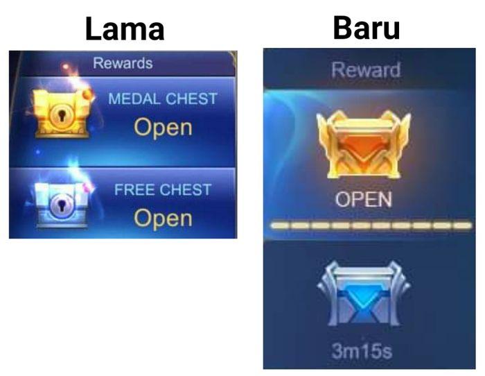 Tampilan reward MLBB UI 2.0