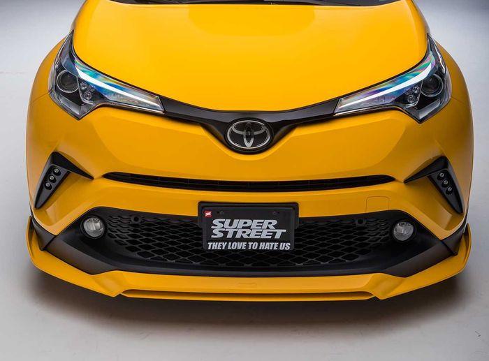 Fascia modifikasi Toyota C-HR dari Amerika