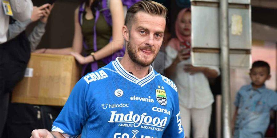 Tumpuan Harapan Baru, Persib Bandung Resmi  Perkenalkan Rene Mihelic
