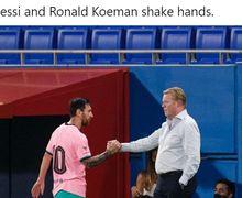 Respon Curiga Ronald Koeman Usai Lionel Messi Deklarasikan Perdamaian