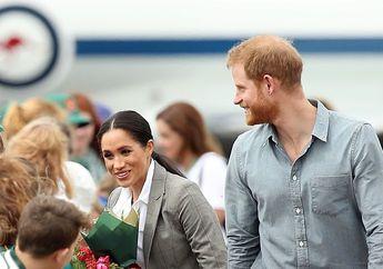 Viral, Janggut Pangeran Harry Dielus Anak Kecil Ini Saat di Australia!