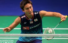 Thomas Cup 2020 - Kento Momota Kalah Lagi dari Heo Kwang-hee, Jepang Tertinggal 0-1