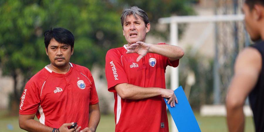 Pelatih Persija Jakarta Sayangkan 6 Pemain Inti Cedera