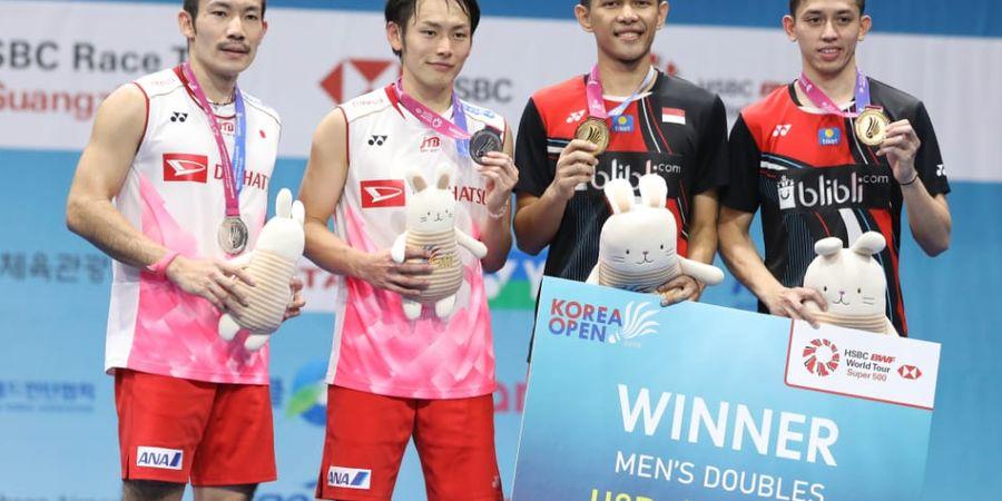 Pasangan Ganda Putra Jepang Incar Medali Emas di Olimpiade Tokyo