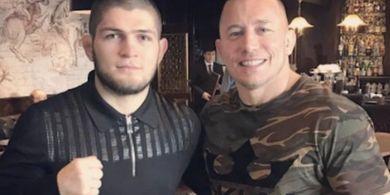 Naksir Khabib Setengah Mati, Legenda UFC Lebih Betah Tonton Petarung Lain