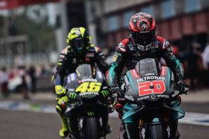 Rossi: Quartararo adalah Tantangan untuk Pembalap Tim Pabrikan Yamaha