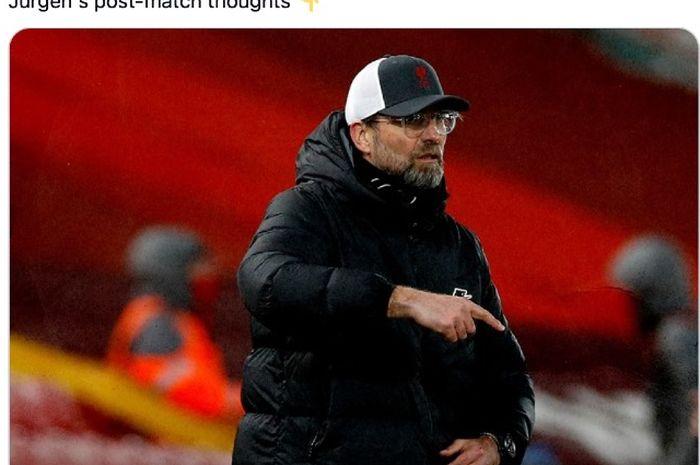 - Pelatih Liverpool, Juergen Klopp, mengkhawatirkan satu hal ini jika timnya tak lolos Liga Champions musim depan.