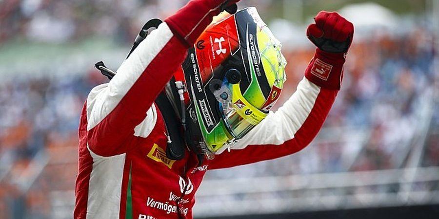 Petinggi F1 Sebut Ada 'Schumi' di Selebrasi Kemenangan Mick Schumacher