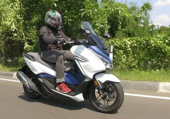 Walaupun Mahal, Inden Honda Forza 250 Cuma Sebulan, Pemesan Gak Usah Khawatir