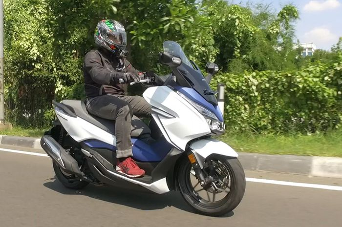 Test Ride Honda Forza 250