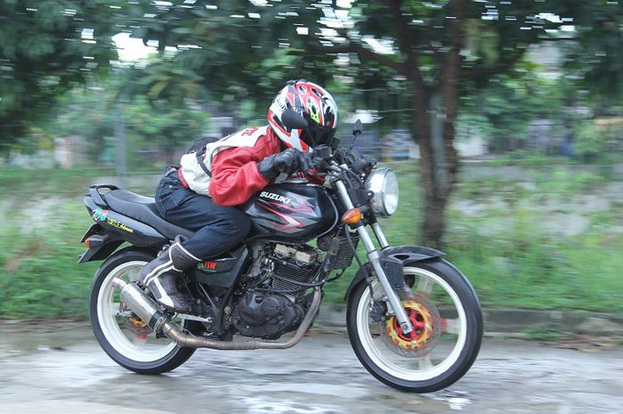 Suzuki Thunder 125 bore up mesin