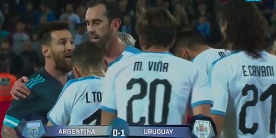 Kronologi Pertengkaran Lionel Messi dan Edinson Cavani